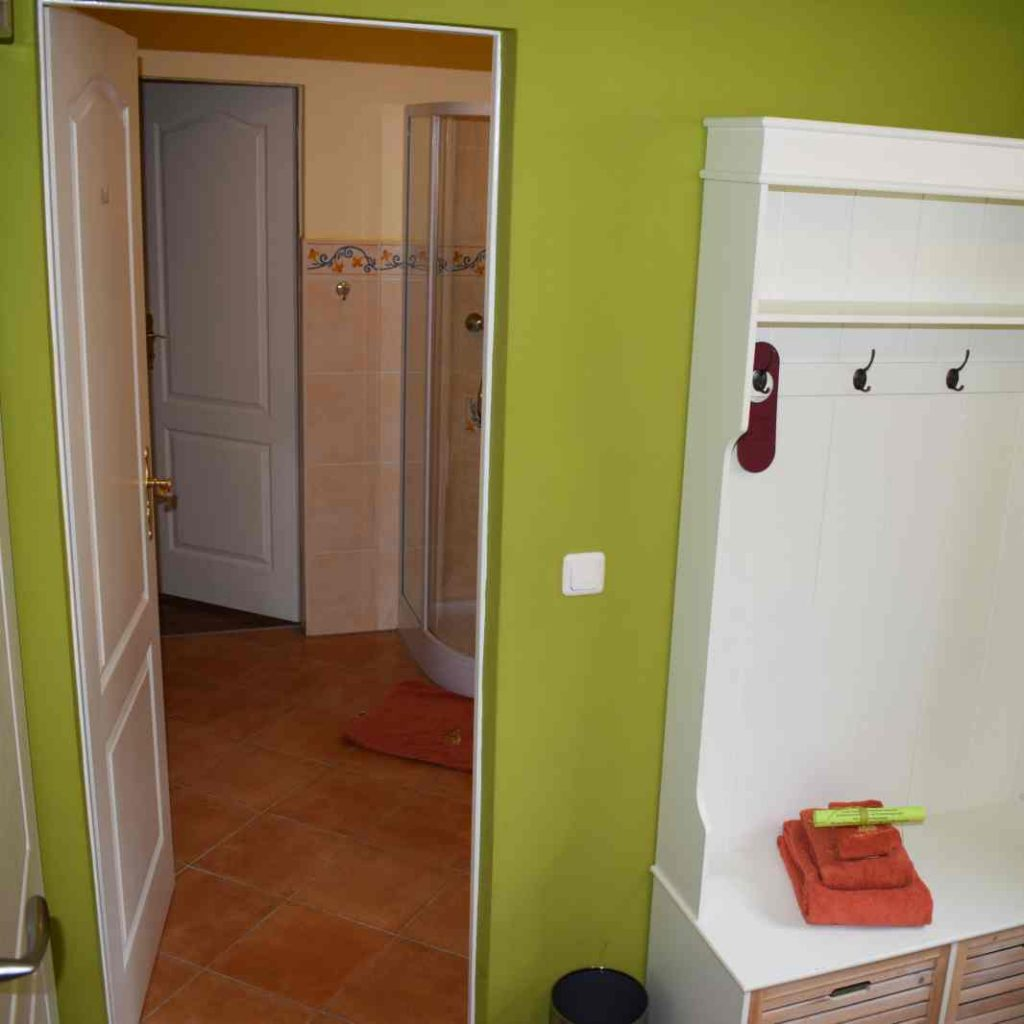 Zimmer 4 Durchgang zu Zimmer 5